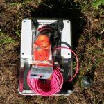 Outdoor-Router vor Montage
