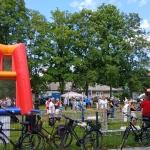 Stadtfest 2019, Wiese vor dem Kirchturm